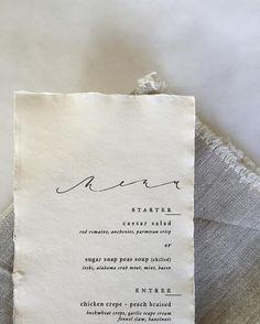 ATL based calligrapher & designer :: Owner of Brown Linen Design, a bespoke paperie.