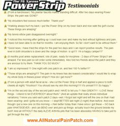 Visit http://www.AllNaturalPainPatch.com for a FREE sample 3-pack!