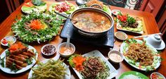 Vietnamese-style hot pot – an awesome dish -  Trying Vietnamese-style hot pot, which is one of the most popular foods in Vietnam, is a truly fantastic choice for a large group of friends or family  #HanoiFood, #HanoiOldQuarter, #PopularFood, #ThingsToEatInVietnam, #VietnamStreetFood -  #VietnameseFood