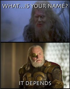 You know him as Odin. The marvel universe knows him as Odin, and by extension every 8-18 year old boy in the world knows him as Odin. While today we give him a single name by which to identify him,…