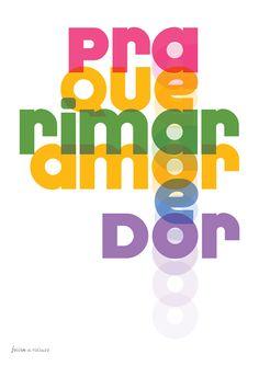 Pôster Follow the Colours em parceria com Na Casa da Joana. Put some colours in your life!