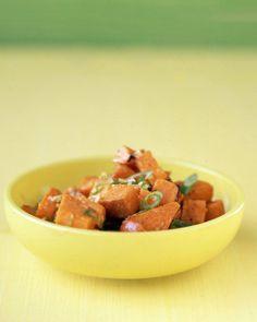 Sweet-Potato and Ginger Salad