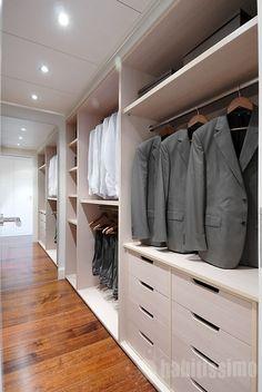 Dressing sur mesure en cr maill re bliss arredaclick home closets desig - Dressing modulable ikea ...