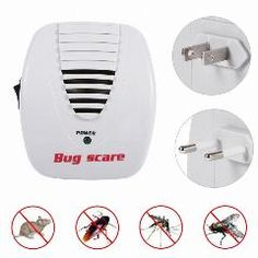 Sensor & Detector Hearty High Quality Ultrasonic Electronic Pest Repeller Indoor For Lustrating Mouse Bug Mosquito Insect Security & Protection