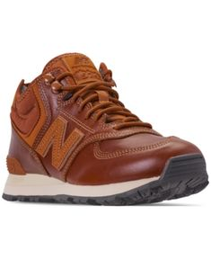 a70986063b197 New Balance Men s 574 Mid Casual Sneakers from Finish Line - Brown 8