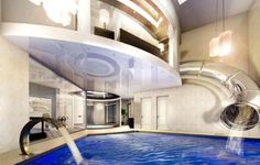 Super Cool Mansion With An Indoor Water Ride In England | DigsDigs