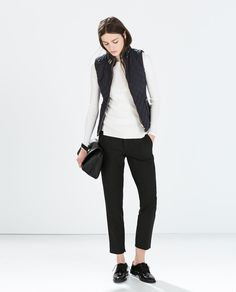 Layering: the quilted vest