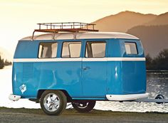 dub box trailers provide an option for those that love the aesthetics of the classic volkswagen bus but want to camp in something more refined than a restored vintage camper bus.