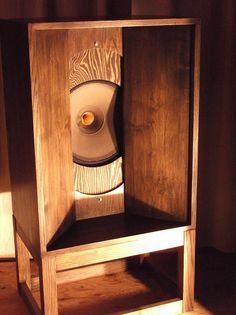 2013年01月 : オーディオ大好きおやじの日記 Open Baffle Speakers, Horn Speakers, Diy Speakers, Built In Speakers, Sound Room, Speaker Box Design, Speaker Amplifier, Audio Design, High End Audio