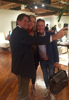 Selfies at the trade show with #BarclayButera and #candiceolson