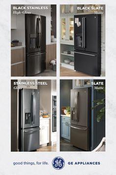 Choosing Between Slate Black Stainless Steel Amp Black