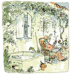 """Quentin Blake, """"The story of the dancing frog"""""""