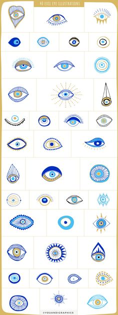 Evil Eye Illustrations + Patterns by Youandigraphics on Creative Market E. - Evil Eye Illustrations + Patterns by Youandigraphics on Creative Market Evil Eye Illustratio - Evil Eye Art, Tattoo Diy, Eye Illustration, Astronaut Illustration, Dinosaur Illustration, Illustration Children, Mountain Illustration, Butterfly Illustration, Photography Illustration