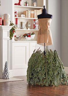 Make a Christmas Tree Dress | The Home Depot's Garden Club