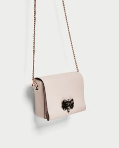5a7e5993461497 CROSSBODY BAG WITH BUTTERFLY DETAIL - BAGS