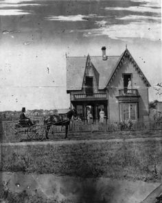 Home of Dr. Henry Owens - Circa 1878 - Victorian residence with Gothic Revival styling