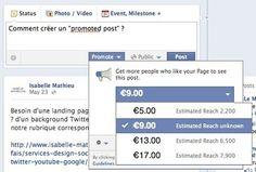 Facebook : «People Reached» et «Promoted Posts», C'est Pour Maintenant !