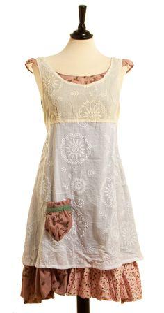 Kleid Manet - Beige von Ian Mosh - What a sweet little pinnie!