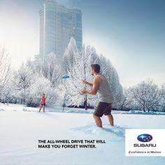 Quebec Subaru Dealers' Association: Forget winter