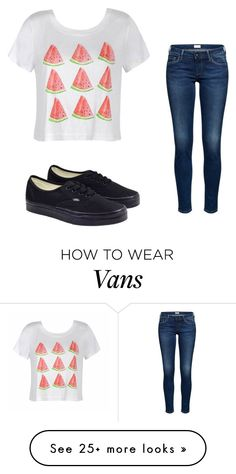 """""""@darkchocolategirl choice"""" by aspenrose321 on Polyvore featuring Ally Fashion and Vans"""