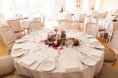 Borddækning, bordpynt, bryllup