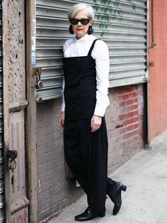 Accidental Icon—the best blog to follow for outfit ideas for older women