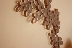 Käsin luotua: Paperirulla-askartelua