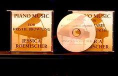 Custom-created CD's by Jessica Roemischer