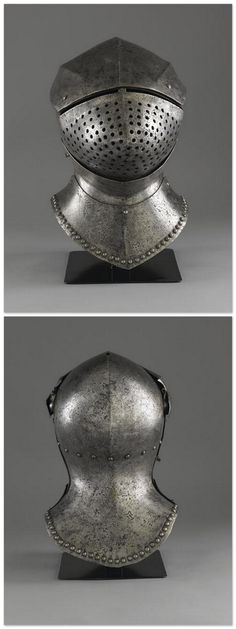 Grand bacinet - 15th Century. Italie. | Photo (C) Paris - Musée de l'Armée, Dist. RMN-Grand Palais / Pascal Segrette