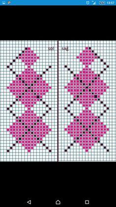 Tapestry Crochet, Beadwork, Knitting Patterns, Cross Stitch, Border Tiles, Bangle Bracelets, Dots, Flowers, Drawings
