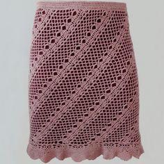 Crochet skirt PATTERN for sizes xs-XL detailed TUTORIAL in