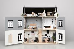 Black and white Doll House