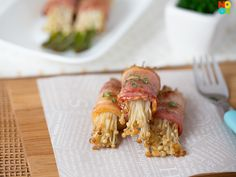 Bacon Wrapped Enoki