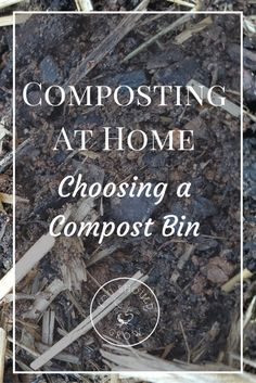 Tips For Composting Composting At Home: Choosing A Compost Bin - Composting reuses your kitchen and garden scraps to make something very valuable to your garden. Get it done without a mess by using a compost bin. Composting Methods, Composting At Home, Composting Bins, Garden Compost, Garden Soil, Vegetable Gardening, Veggie Gardens, Best Compost Bin, How To Make Compost