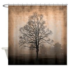 Abandoned Tree Shower Curtain on CafePress.com