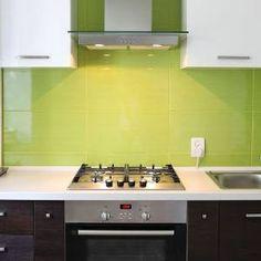 Splashback kitchen tiles. I prefer a glass splashback or smaller tiles though
