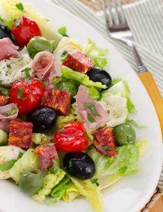 Antipasto Salad - Ea