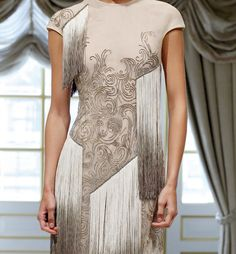 Dennis Basso Spring 2013 NY Fashion Week // Delicate and elegant marble
