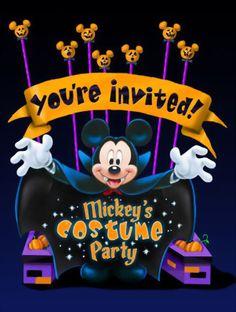Disney Halloween! I'd love to dress up at Disney!