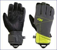 Outdoor Research Illuminator Sensor Gloves.