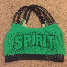 Spirit of Texas Sports Bra Current practice wear.  ONLY TRADING FOR BIG GYM SPORTS BRAS! Will consider high offers but probably not going to sell. This is listed at $200 so I can take offers. Intimates & Sleepwear Bras