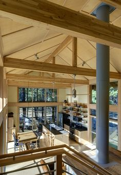 Cabin Design Mazama, WA |Natural Modern Architecture Firm