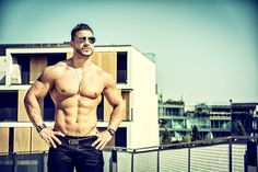 Handsome Muscular Shirtless Hunk Man Outdoor in City Setting. Introduction To Programming, Phonics Reading, Reading Comprehension, Shirtless Hunks, Hunks Men, Abdominal Muscles, Magazine Articles, City Photo, Hot Guys
