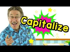 Our Capitalize video will help you learn when to capitalize and the rules for capitalization. Capitalize when you begin a sentence. Capitalize names, places . Kindergarten Songs, Kindergarten Reading, Teaching Reading, Preschool Music, Morning Meeting Songs, Phonics Song, Phonics Videos, Writing Station, First Grade Math