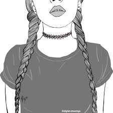 Resultado de imagem para outline drawing tumblr