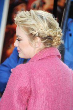 Emma Stone Braided Updo