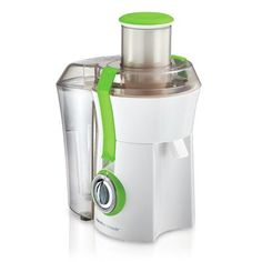 800 Watts Electric Juice Extractor w Stainless Steel Cutter and Strainer WhiteGreen ** Details can be found by clicking on the image. (This is an affiliate link)
