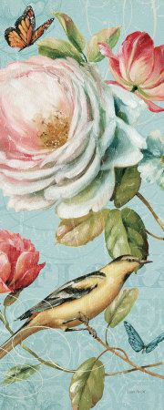 """Spring Romance II"" by Lisa Audit 8"" x 20"" Art Print ~ All Posters"