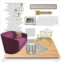 Bohemio... That Kind of Nature by shadesofmydesire on Polyvore featuring polyvore interior interiors interior design home home decor interior decorating French Connection Dot & Bo Suki Cheema