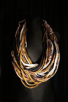 Mayan Print Infinity Scarf by gselle on Etsy